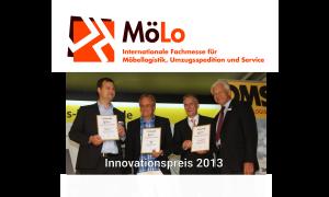 Innovationspreis 2013 für den Tourenplaner für Umzugsfirmen