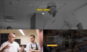 claudio-perrando.com, Optimierung WordPress