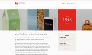 ffi.de, Website mit WordPress