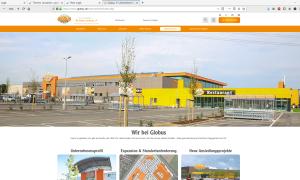 Globus.de, Content Management System